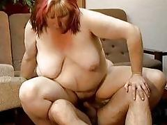 Dirty fat housewife having an orgasm part2