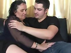 Chubby Granny Loves Anal